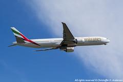 A6-EBV (13) (Christoffer Andersen) Tags: oslo airplane aviation emirates ek boeing osl b777 b777300 b777300er passengerplanes osloairportgardermoen