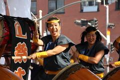 The Exuberance of Taiko, Los Angeles (vtpoly) Tags: california people music musicians america drums japanese us losangeles women faces drum group culture taiko drumming obon nishi japanesefestival 2016 hongwanji lamatsuritaiko polywoda