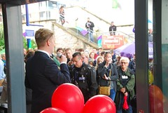 """Cllr Mike Sparling at the Plymouth Stands with Orlando Vigil • <a style=""""font-size:0.8em;"""" href=""""http://www.flickr.com/photos/66700933@N06/27652466162/"""" target=""""_blank"""">View on Flickr</a>"""