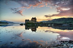 _DSC5057_Eilean-Donan-Castle-2 (danilotorre) Tags: sunset castle lago scotland tramonto highland loch castello eilean donan duich scozia