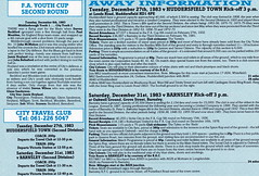 Manchester City vs Oldham Athletic - 1983 - Page 18 (The Sky Strikers) Tags: road xmas city canon magazine manchester football athletic maine second match oldham division saab league the 40p