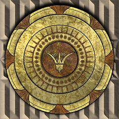 Egyptian Shield (alkmion) Tags: greek free textures tiles designs shield seamless