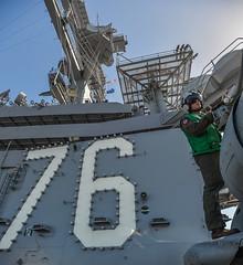 150501-N-YO638-068 (U.S. Pacific Fleet) Tags: sandiego sailors aircraftcarrier sandiegoharbor codyhendrix mc3codyhendrix masscommunicationspecialist3rdclasscodyhendrix