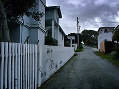 out of bounds, Line Street, New Monterey / Pacific Grove, February 12, 2012 (/\/\ichael Patric|{) Tags: california street houses sky house leaves clouds fence geotagged monterey wire alley cloudy pavement hill gray overcast vegetation montereycounty february pacificgrove centralcoast boundary utilitypole uphill westcoast slope 2012 montereycalifornia michaelpatrick pacificgrovecalifornia montereybayarea address:continent=northamerica address:country=unitedstatesofamerica address:state=california montereycountycalifornia address:city=monterey newmonterey address:postalcode=93940 february2012 address:street=linestreet geo:lat=366166 geo:lon=1219060