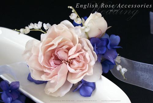 訂製系列-英倫玫瑰手腕花