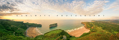 (Rawlways) Tags: ocean sunset beach atardecer asturias playa llanes oceno rawlways