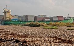 Container (harrykretzschmar) Tags: strand natur orte maritim falckenstein foerde