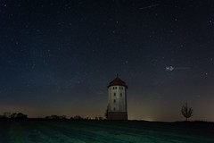 Wasserturm und Sterne #1 (Hebe.Photography) Tags: tower nature water canon germany stars star sony south may mai adapter 28 20mm 20 sterne fd badenwrttemberg ostalb a7r