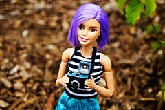 Violet (imida73) Tags: lomography keychain barbie violet move made diana va fashionista 2016