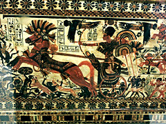 Tutankhamun Hunting scene (Amberinsea Photography) Tags: egypt cairo treasures tutankhamen tutankhamun cairomuseum treasuresofancientegypt thecairomuseum amberinseaphotography