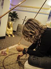 Spiritual Ecstasy Enterprise's Misti Cooper Spiritual Alchemist™  in the Atlantis Sedona Pyramid (DRUified) Tags: travel arizona usa love transformation sedona spiritualalchemist rebeccadruphotography misticooper spiritualecstasyenterprise spiritualecstasyshow