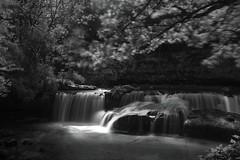 *** (6line8) Tags: longexposure dark blackwhite waterfall cascade noirblanc expositionlongue