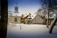 2016Fev-Vieux TR-34 (jdbrochu) Tags: photographie hiver troisrivieres ville clocher laneige pleinair batisse vieuxtroisrivieres