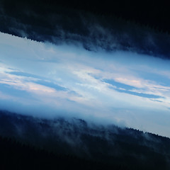 Upside Down After The Storm (Marek Kalich) Tags: blue sky storm nature rain clouds forest spring upsidedown outdoor smoke fineart explore wandelust