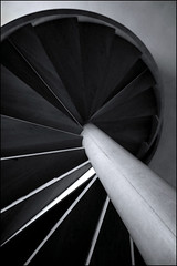 IMG_4218 (pappleany) Tags: bw stairs spiral blackwhite treppe staircase architektur sw wendeltreppe schwarzweis stklarakirche pappleany