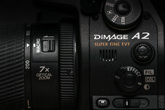Konica-Minolta DiMAGE A2 (Matt H. Imaging) Tags: matthimaging konicaminolta minolta dimagea2 dimage a2 a77ii sony slt sonyalpha slta77ii ilca77m2 ilca77ii sal100f28 closeup camera