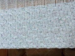 Ben's Blanket (in progress) (spunsilver) Tags: handwoven babyblanket