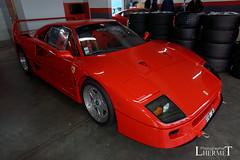 Ferrari F40  - 20160604 (0084) (laurent lhermet) Tags: sport ferrari collection et supercar ferrarif40 levigeant valdevienne sportetcollection circuitduvaldevienne sel1650 sonya6000 sonyilce6000