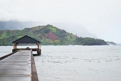 Hanalei Pier Hanalei, Hawaii (seanmugs) Tags: hawaii kauai hanaleipier hanalei hanaleibay hanaleihawaii