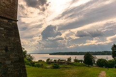 Fort-Washington-11-2 (vaabus) Tags: fortwashington fortwashingtonmaryland fortwashingtonpark bastion casemate cannon 24poundercannon caponniere civilwardefensesofwashington fortification