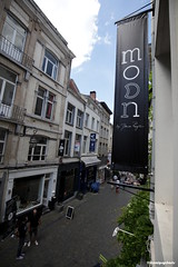 Moon by Dana Rogoz's shop in Brussels - opening (Visual Psychosis) Tags: fashion bags moon rogoz style stylish romania belgia romanian belgium shop
