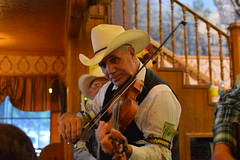 Playing a tune (radargeek) Tags: amarillo texas tx thebigtexan steak ranch cowboy cowboyhat fiddle