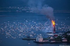 Slinningsblet 2016 (sindre97) Tags: world summer norway boats norge midsummer bonfire record meter mid 47 lesund sankthans worldrecord bl 2016 sthans midtsommer norvegen aksla slinningsblet