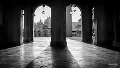 Piazza San Marco (Q-BEE) Tags: summer italy san holidays italia urlaub marco piazza venezia venedig adria veneto serenissima laserenissima vemice