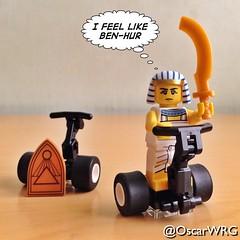 #LEGO #EgyptianWarrior #BenHur #Segway #LEGOsegway #SegwayPT #LEGOsegwayPT @SegwayInc @lego_group @lego @bricksetofficial @bricknetwork @brickcentral (@OscarWRG) Tags: lego segway benhur segwaypt legosegway egyptianwarrior legosegwaypt