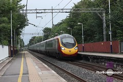 Virgin Trains Pendolino (Luke Bowman's photography) Tags: virgin trains vt pendolino alstom class 390 cheadle hulme