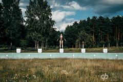 Playground Love (David Pinzer) Tags: people portrait girl sensual emotive outdoor pool