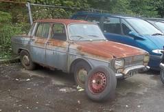 1971 Renault 10 1300 (occama) Tags: xow874j renault 10 1300 1971 old car cornwall uk french scrap restoration rusty