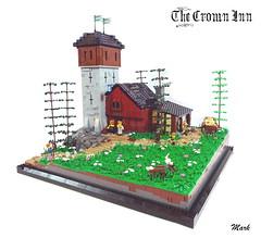 The Crown Inn (Mark of Siloam) Tags: lego castle mark siloam crown inn deer stable tower