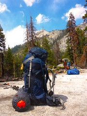 Ready to rock n roll (Lost in Flickrama) Tags: yosemite nationalpark hiking backpacking adventure johnmuirtrail wilderness granite rocks pinetrees california