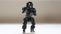 Zone Suit (BadHandle) Tags: lego mech scifi cyberpunk hardsuit drone