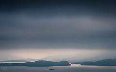Loch Lomond Blues (GenerationX) Tags: balmahabay barr benlomond canon6d conichill dumpling duncrynehill gartocharn inchcailloch inchlonaig inchmoan inchmurrin lochlomond milarrochybay neil sallochy scotland scottish trossachs blue clouds duncryne haze islands landscape layers loch lowcloud mist silhouette water unitedkingdom gb
