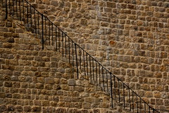 Stairway To Heaven (acwills2014) Tags: citywall stone walls fence handrail character heaven stairwaytoheaven minimalist abstract