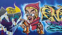 Naste... (colourourcity) Tags: streetartaustralia streetart graffiti melbournestreetart melbourne burncity colourourcity awesome nofilters naste nasty nasa naser wca ac allcity joiner bunsen burner letetrs alphabetmosnters