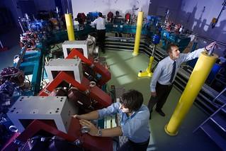 Daresbury Laboratory - Particle Accelerator