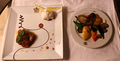 Pavilion Room Service - Apple Tatin & Roast Veg (eLaReF) Tags: apple room egypt roast nile service pavilion veg luxor thebes tatin