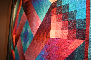 Aurora Quilt at the Elkhart County Visitor Center