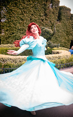 Ariel | Into the Magic (chris.alcoran) Tags: world lighting sea color ariel colors girl canon project photography eos kiss princess little disneyland magic under disney part your coloring 40mm mermaid fantasyland 6d intothemagic