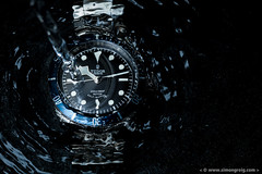 Tudor Heritage Black Bay (Simon Greig Photo) Tags: wet water underwater swiss watch tudor splash brand heritageblackbay