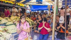 Pray for .... (Lode Engelen - ) Tags: thailand buddha prayer chiangmai watdoikham