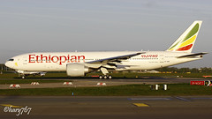 Boeing 777 -260LR  Ethiopian Airlines  ET-ANO (hary767) Tags: boeing dublinairport etano ethiopianairlines eidw 777260lr