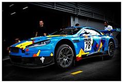 600D-1522-100 (ac | photo) Tags: blue car sport race racecar speed vehicle autoracing endurance astonmartin sportscar pitlane racecars gt3 sportcar spafrancorchamps spa24hours