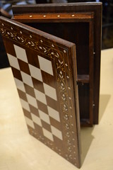 """CHESS BOARD, NO PIECES. • <a style=""""font-size:0.8em;"""" href=""""http://www.flickr.com/photos/51721355@N02/18019855308/"""" target=""""_blank"""">View on Flickr</a>"""