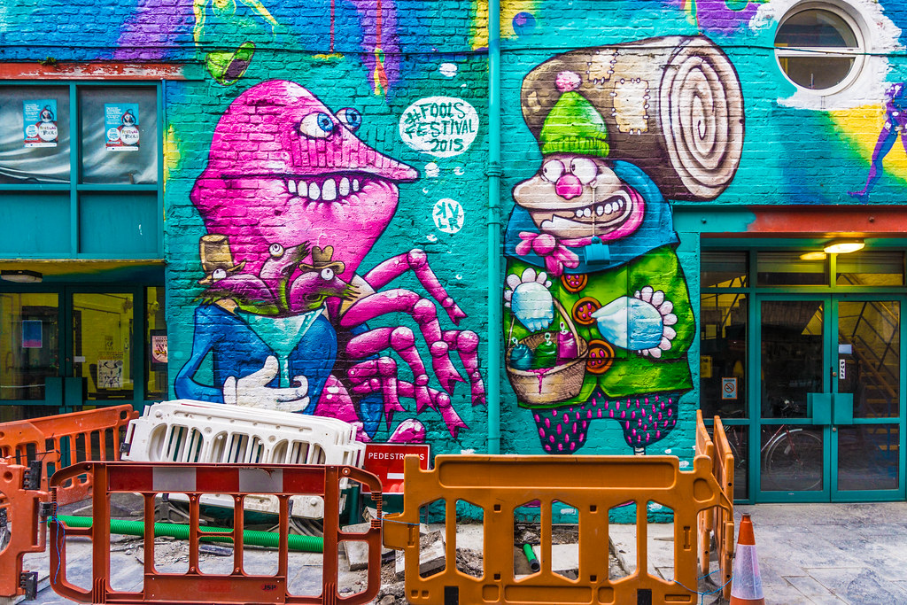Street Art In Belfast [May 2015]-104659