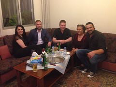 Got invited to The mother of Faye and Carlos for dinner and cakes and lovely company!