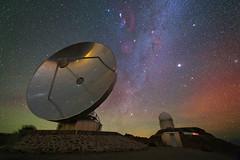 Iridescent Nightscape over La Silla